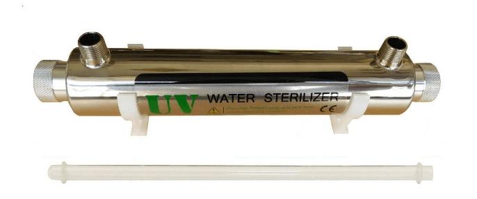 purificador de agua por rayos UV