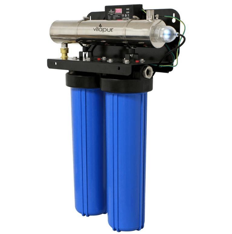 Cómo funciona un purificador de agua ultravioleta