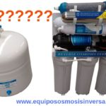 cuánto cuesta un sistema de ósmosis inversa