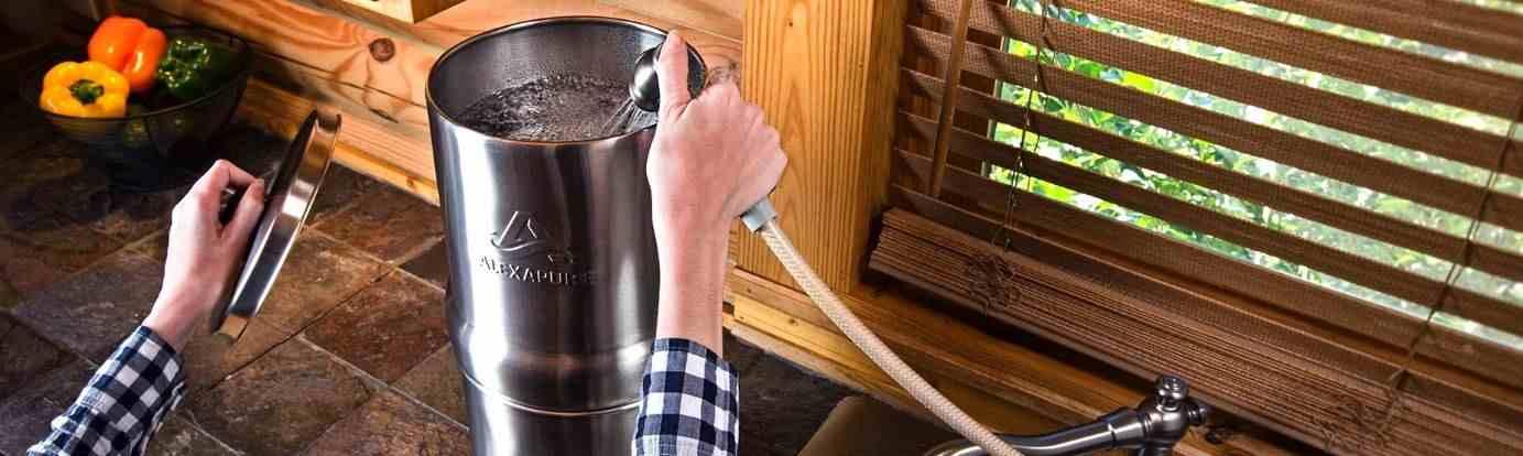 filtro de agua por gravedad