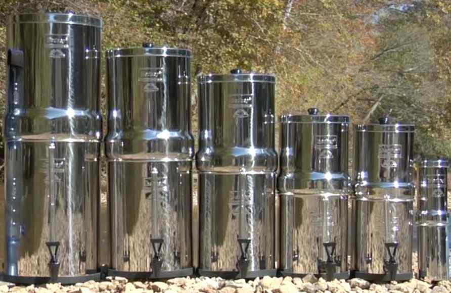 sistemas de filtros de agua berkey